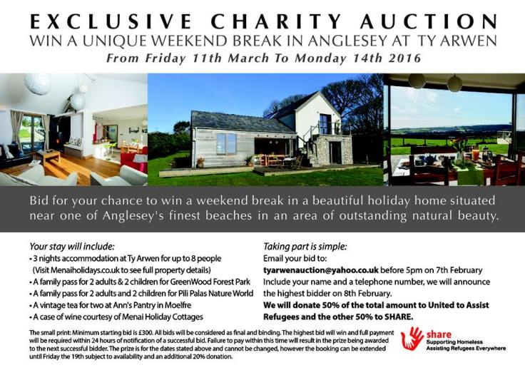 Ilmarie Anglesey Weekend Auction