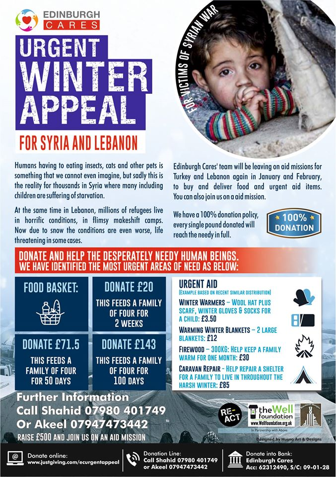 SYRIA FOOD APPEAL